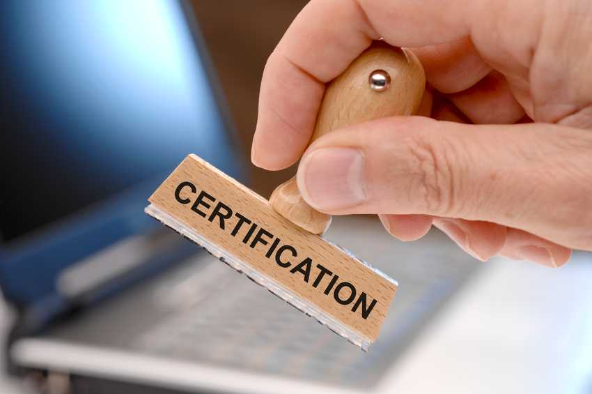 Certification professionnelle Formation PCIE