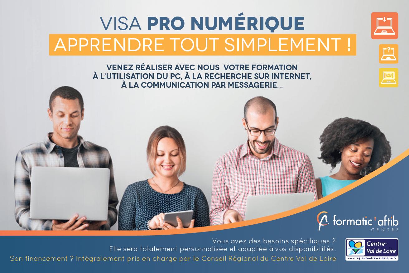 excel gratuit avec le visa pro numérique