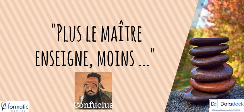 Confucius L Idée De La Pédagogie Chez Formatic Centre